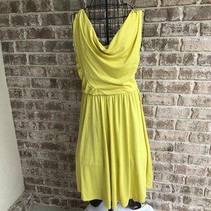 Miss Tina Chartreuse Dress  Medium (8-10) Casual